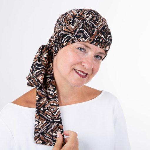voorgevormde chemo sjaals bij haaruitval